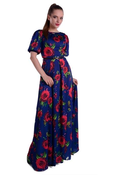 Длинное платье на свидание