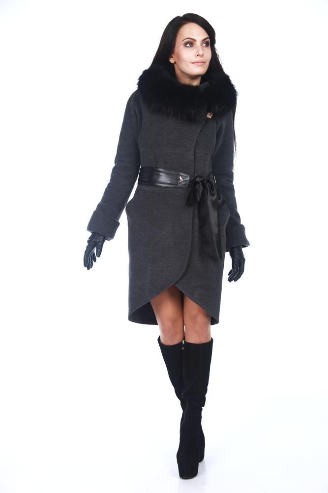 Пальто оптом от производителя Modus Пальто с мехом Буэно