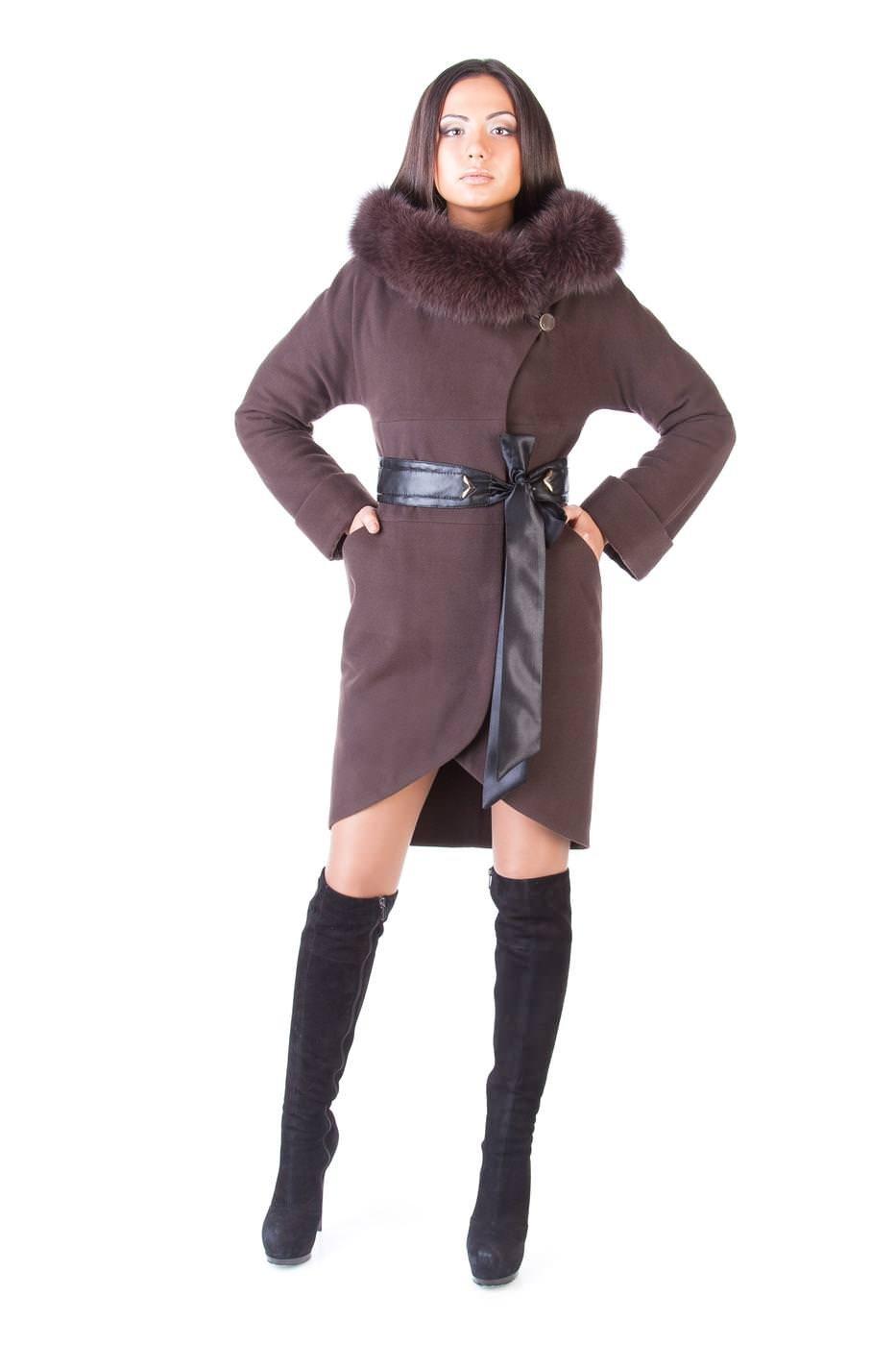 Женское пальто оптом от производителя Modus Пальто с мехом Буэно