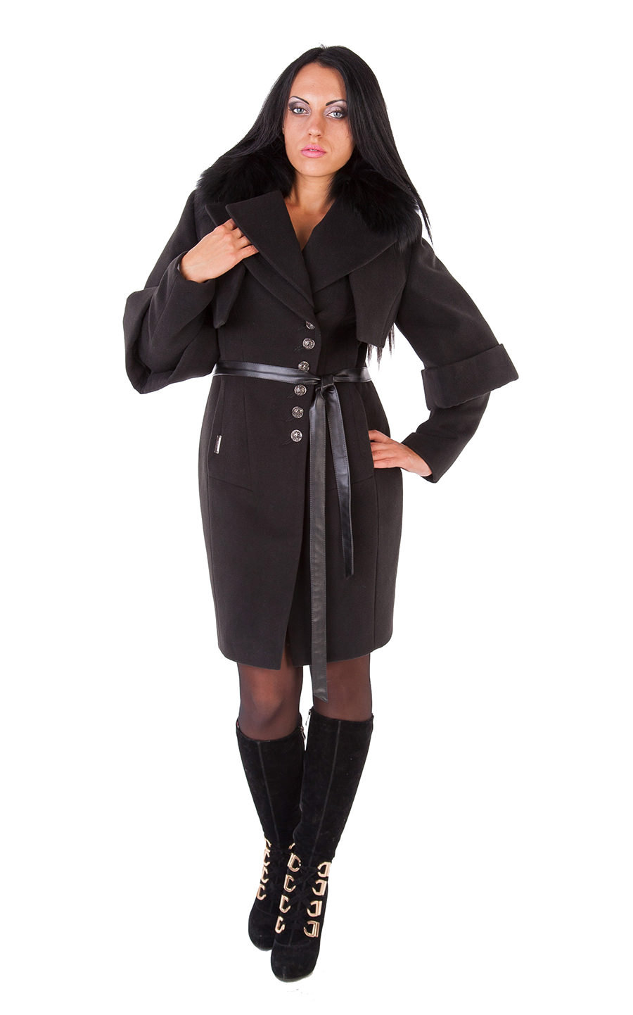 Купить оптом женское пальто недорого Пальто Беверли премиум