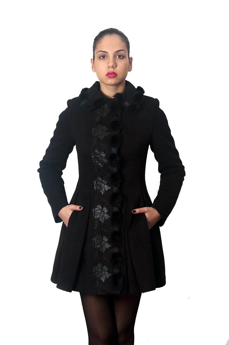 Купить кашемировое пальто оптом от производителя Пальто Нинель