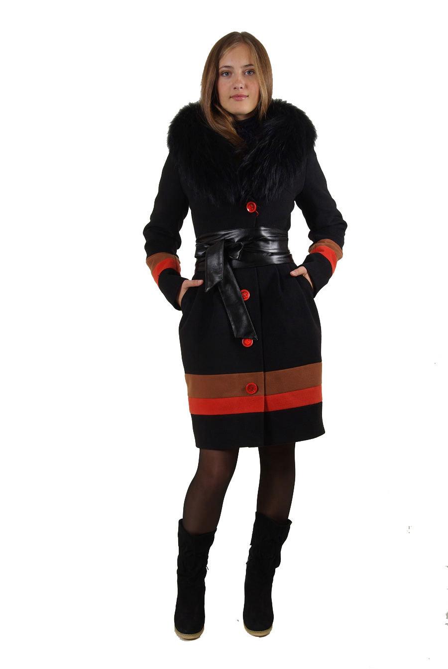 Пальто оптом от производителя Modus Пальто Алика меховое