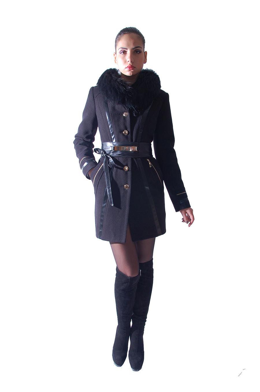 Женская одежда оптом от производителя Modus Пальто Абсолют короткое