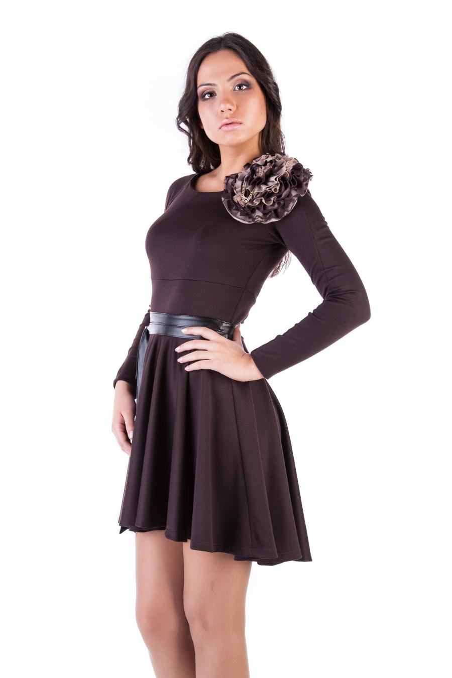 Платья трикотажные оптом от производителя Платье Дейзи