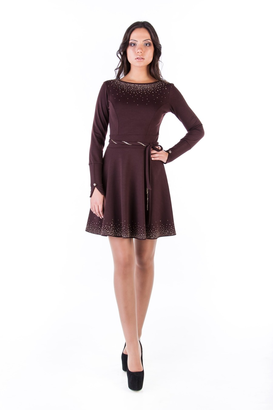 Купить платья оптом от производителя Платье Доларис