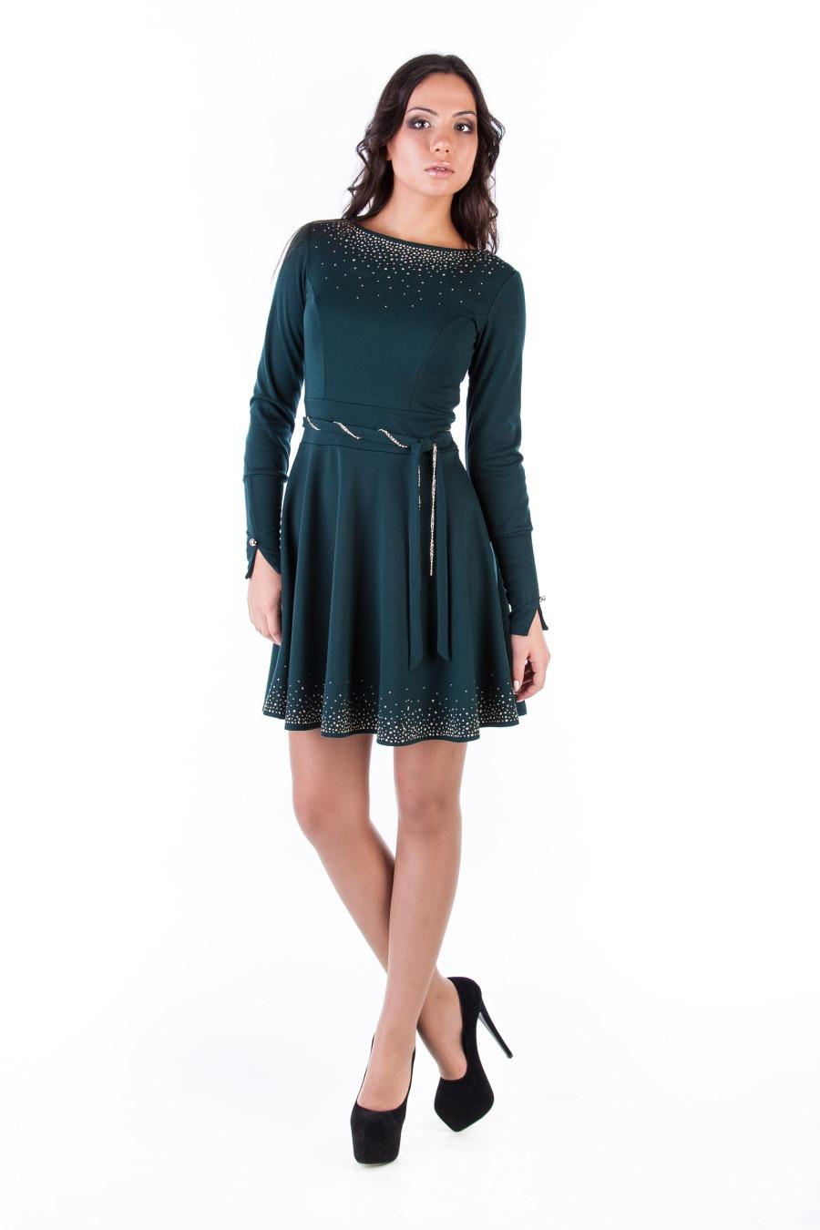 Платья трикотажные оптом от производителя Платье Доларис