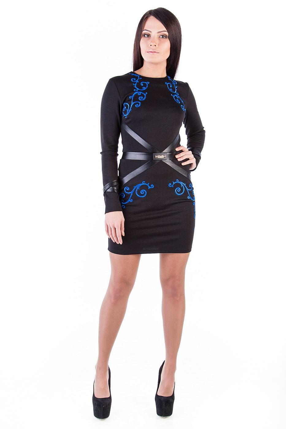 Оптом платье недорого от Modus Платье Соната вышивка