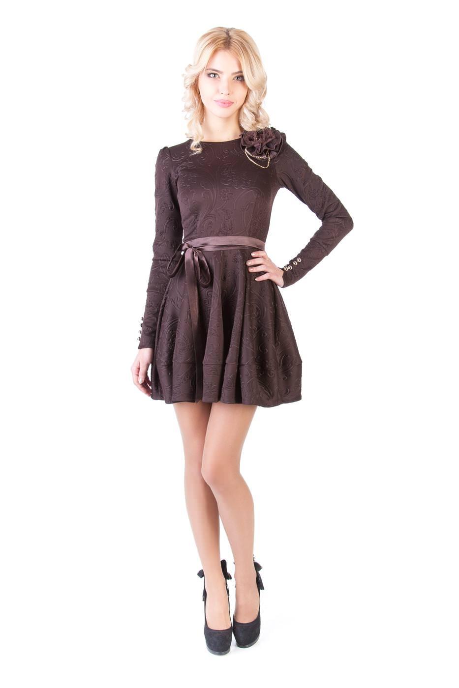 Купить платья оптом от производителя Платье Шерли