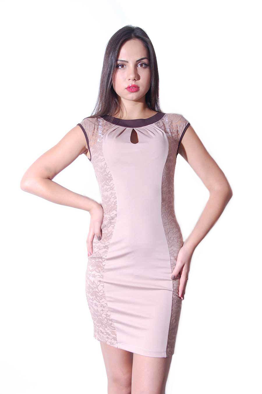 Платья трикотажные оптом от производителя Платье Даниель