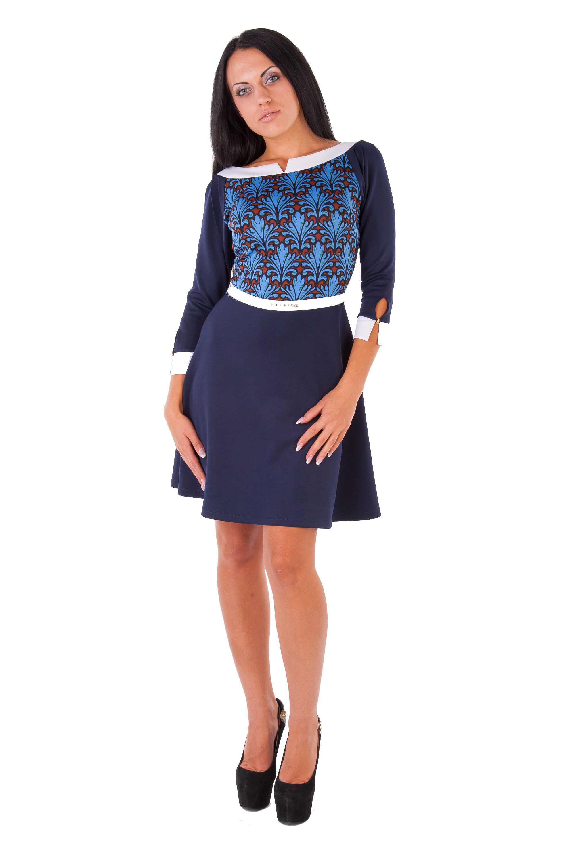 Платья трикотажные оптом от производителя Платье Дарина