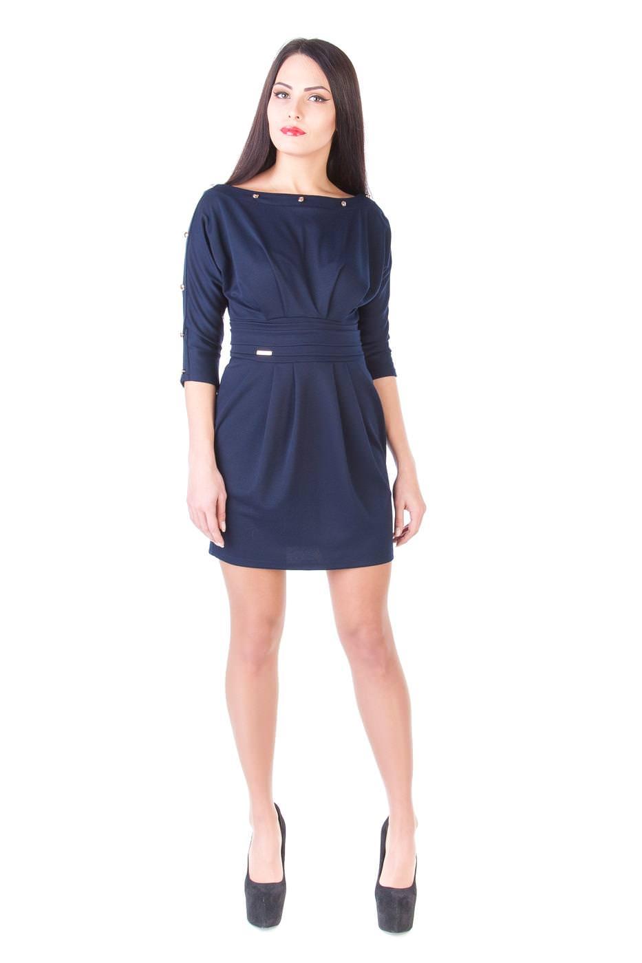 Платья трикотажные оптом от производителя Платье Дуэт