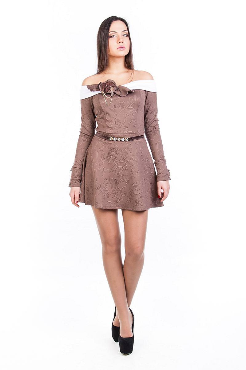 Платья трикотажные оптом от производителя Платье Колибри