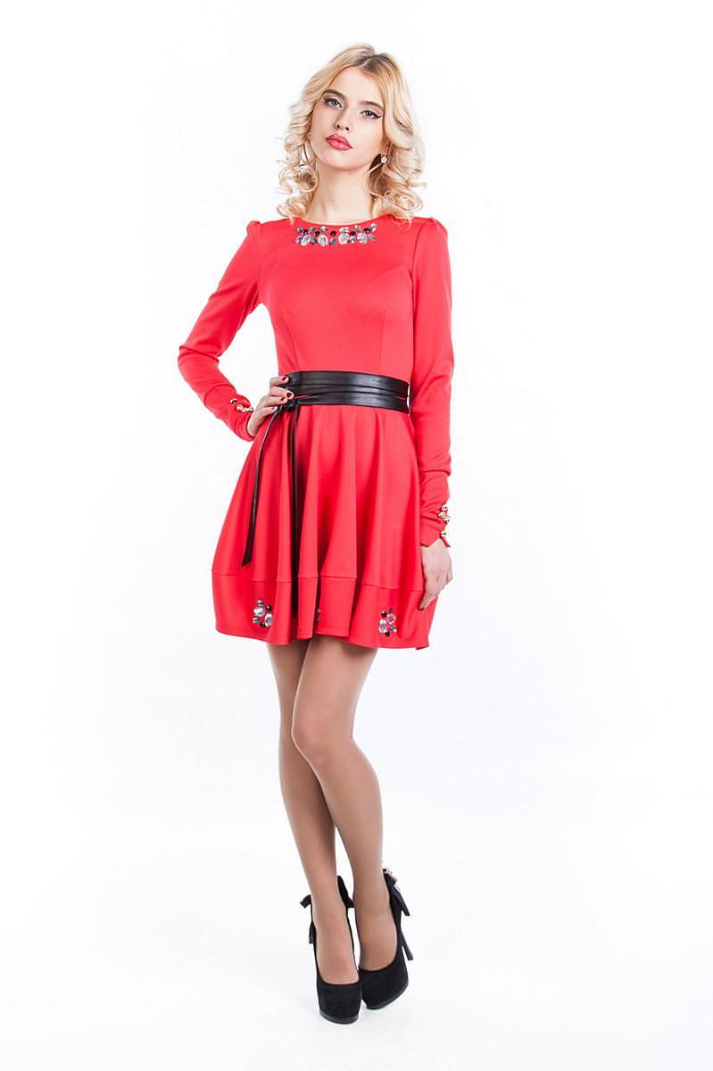 Платья трикотажные оптом от производителя Платье Киара