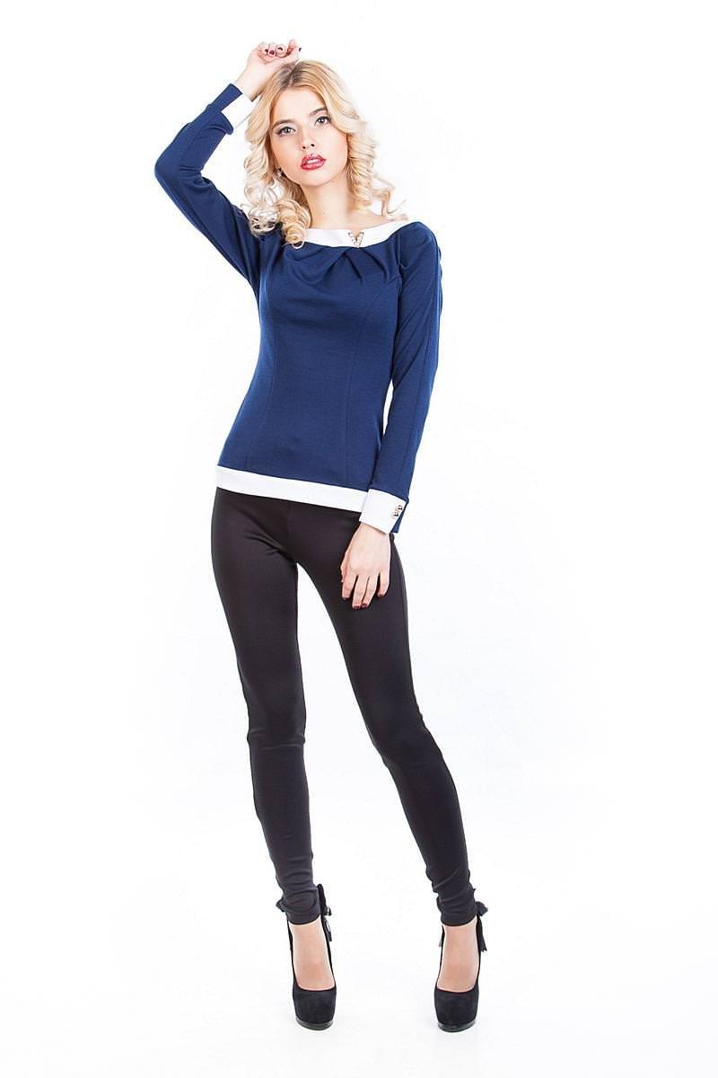 Женские кофточки оптом от производителя Кофточка Лика длинный рукав