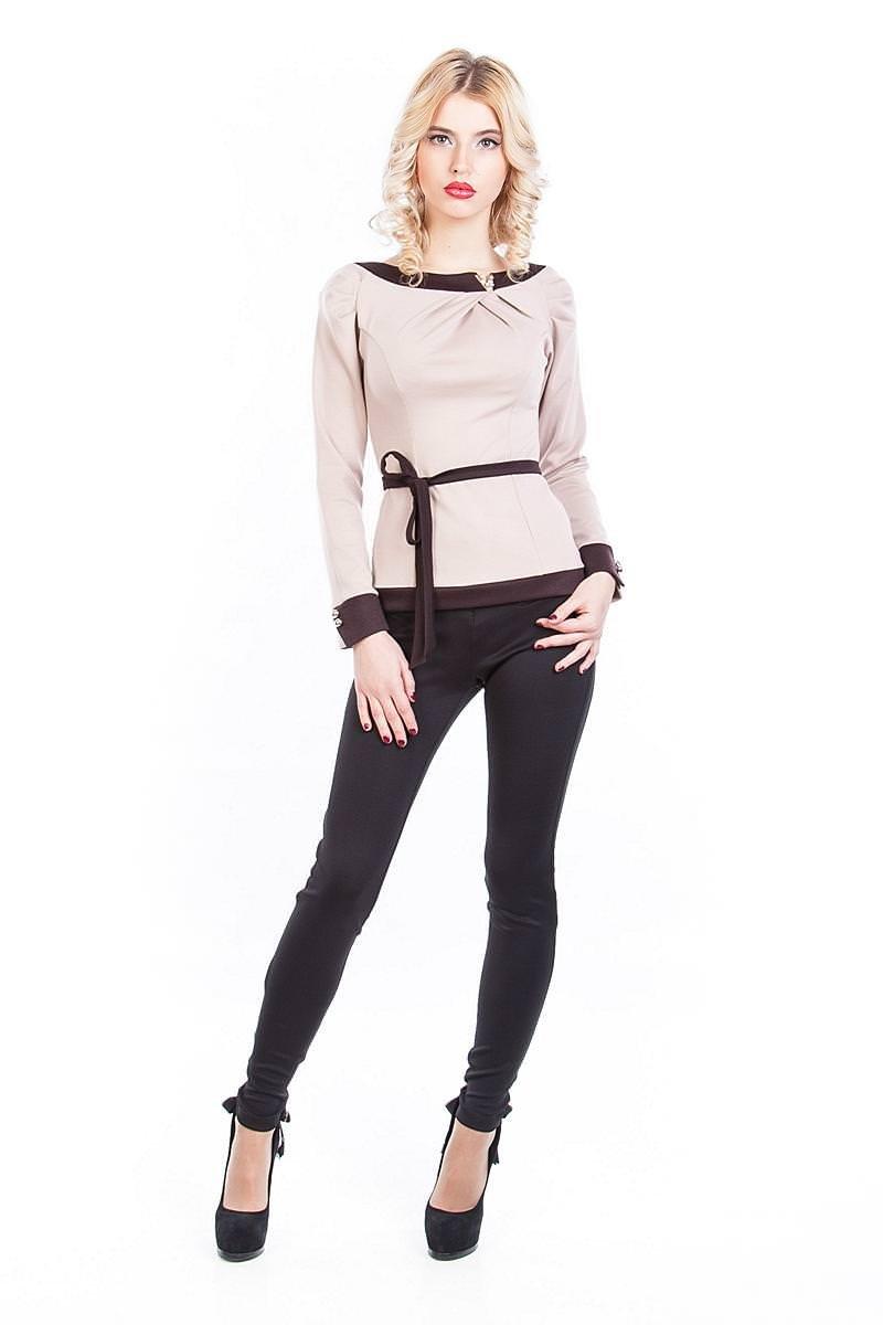 Купить женские кофточки оптом Кофточка Лика длинный рукав