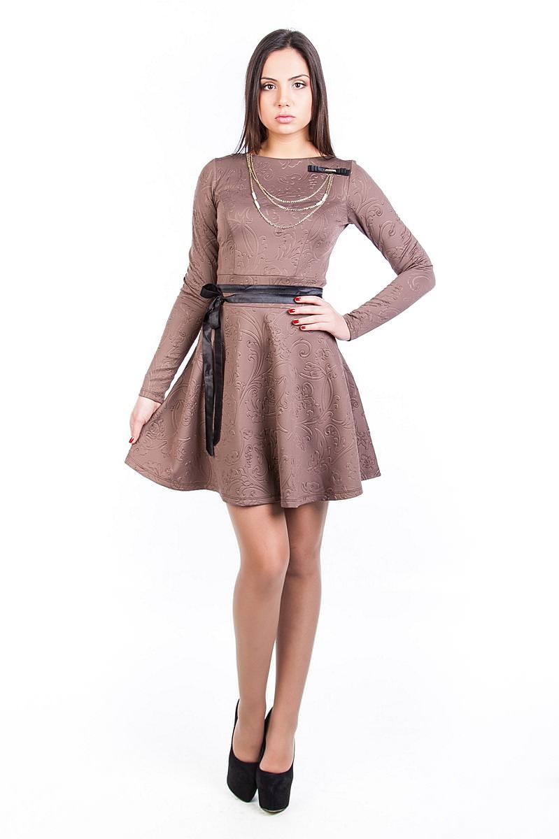 Платья трикотажные оптом от производителя Платье Майа