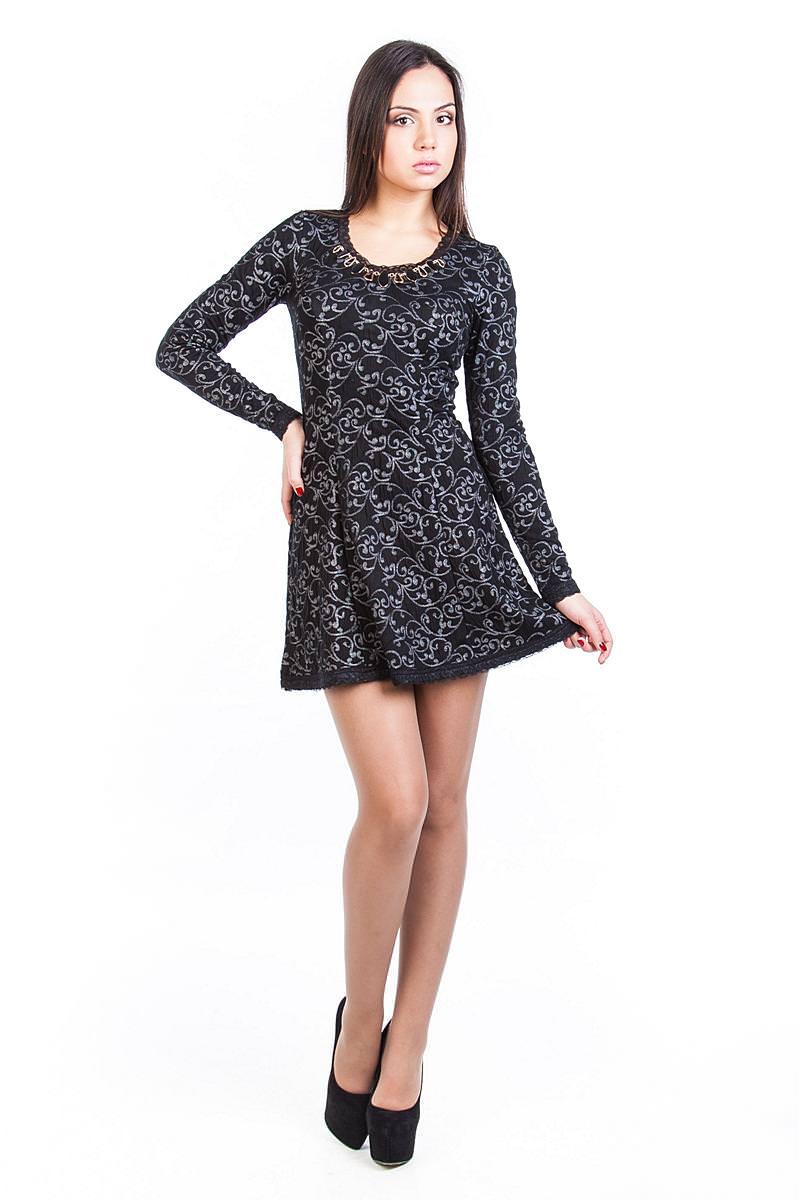 Купить платья оптом от производителя Платье Мери жаккард