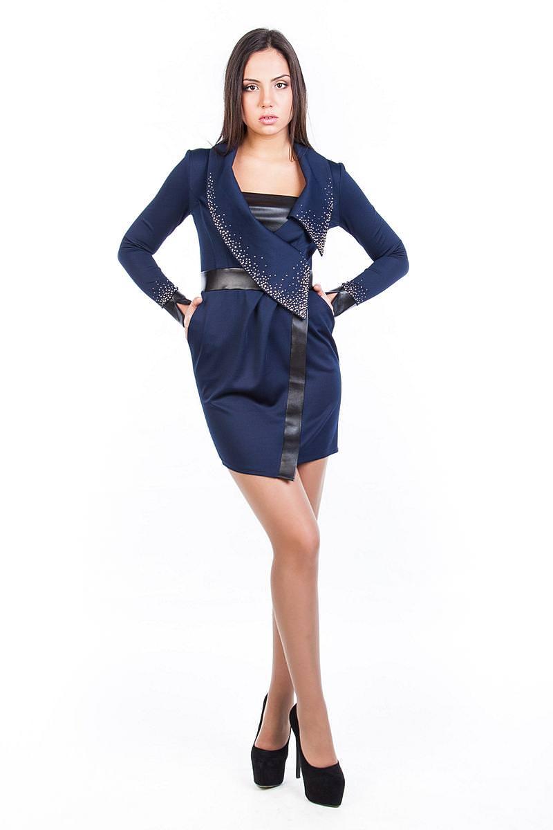 Платья трикотажные оптом от производителя Платье Найс