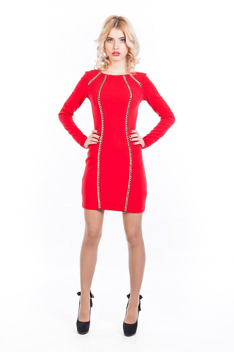 Платья трикотажные оптом от производителя Платье Ричи