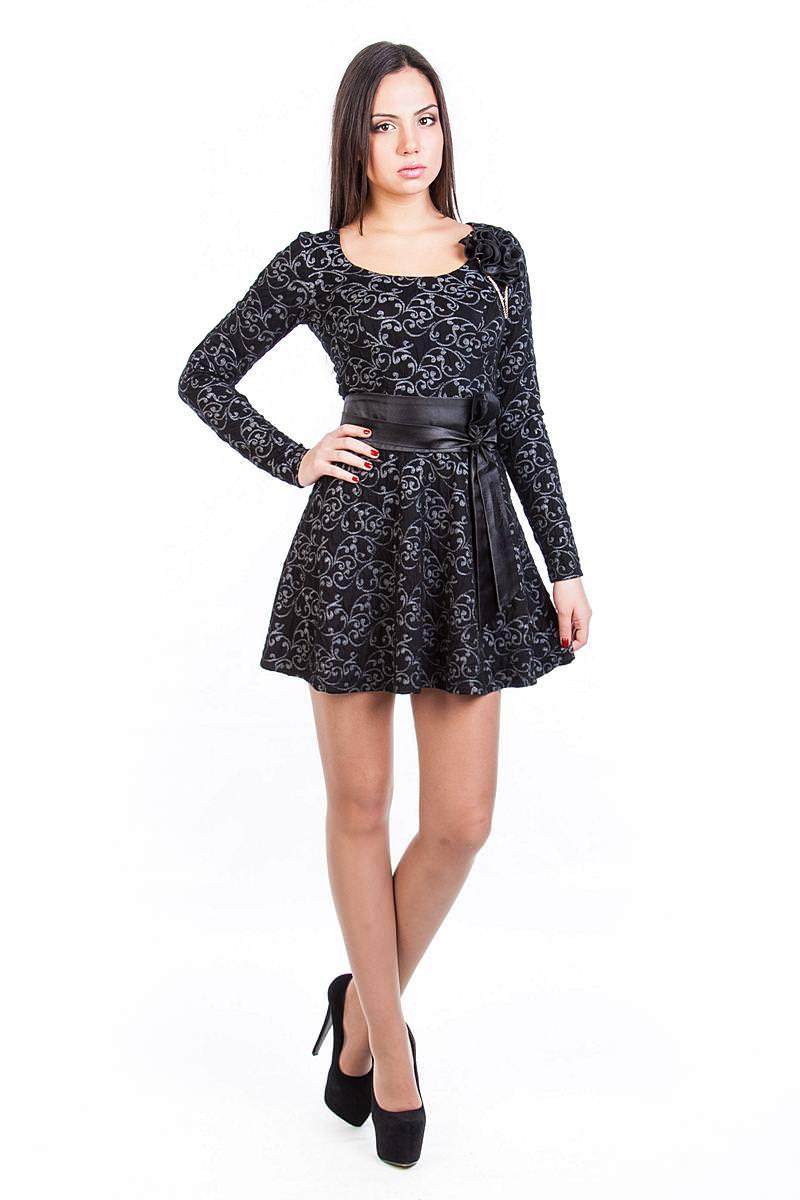 Платья трикотажные оптом от производителя Платье Танго
