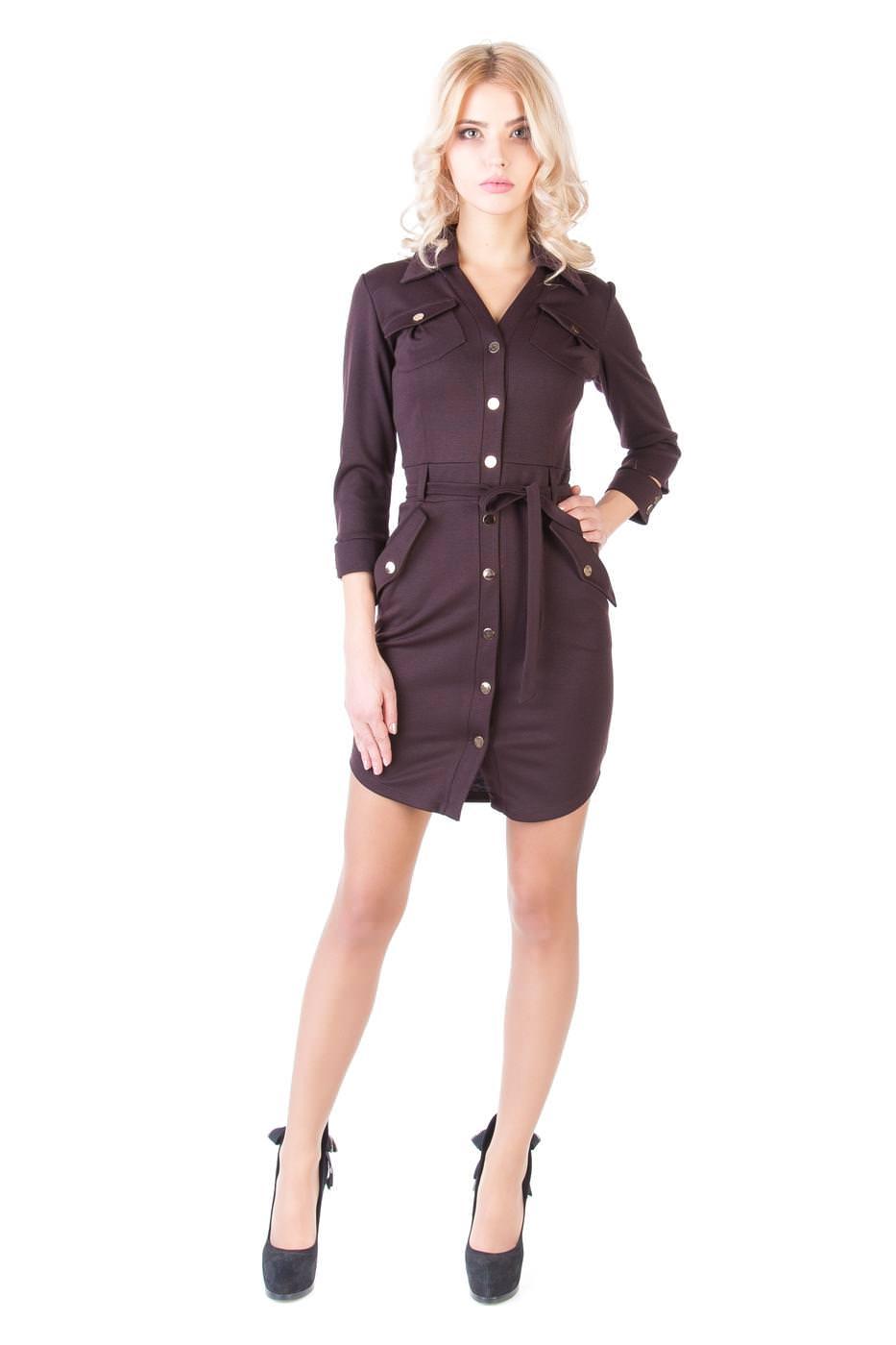Платья трикотажные оптом от производителя Платье Илона