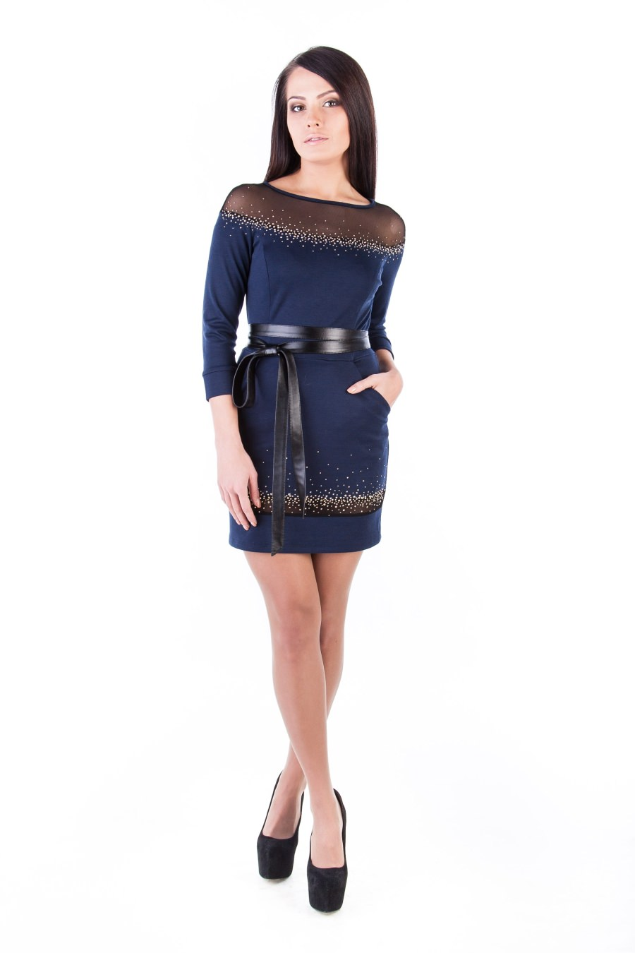 Оптовый интернет-магазин платьев Modus Платье Ирбис француз