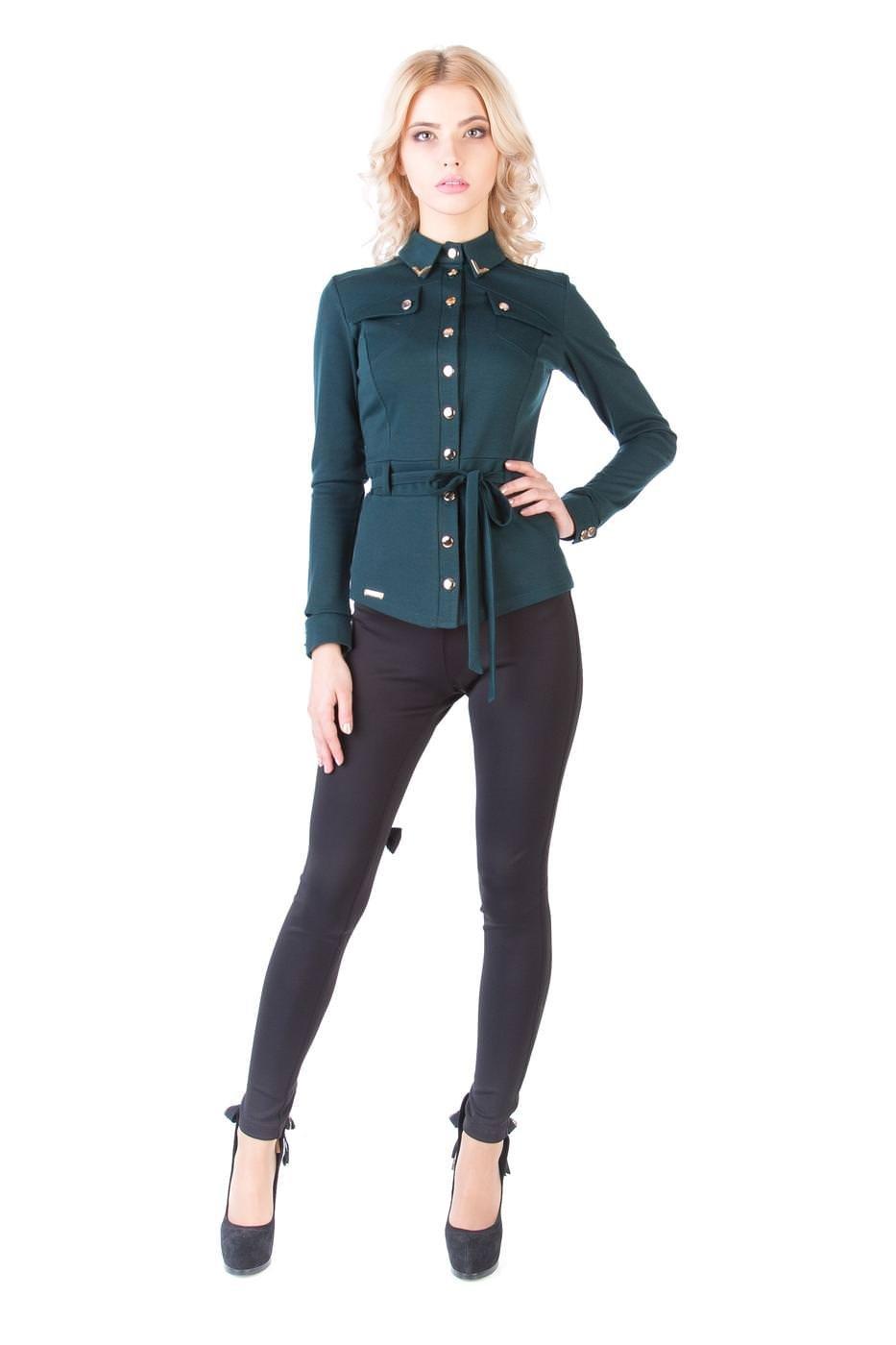 Оптом офисные блузы Modus Кофта  Пэнни