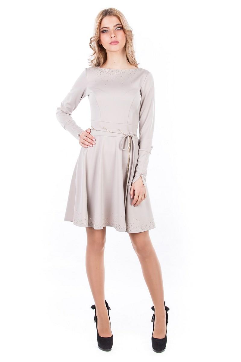 Оптом платья трикотаж Платье Доларис