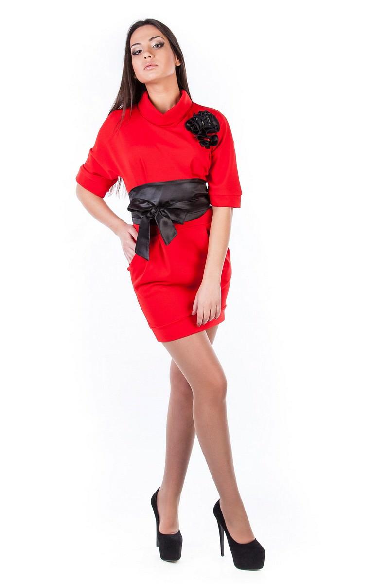 Купить женское трикотажное платье оптом Платье Вассаби