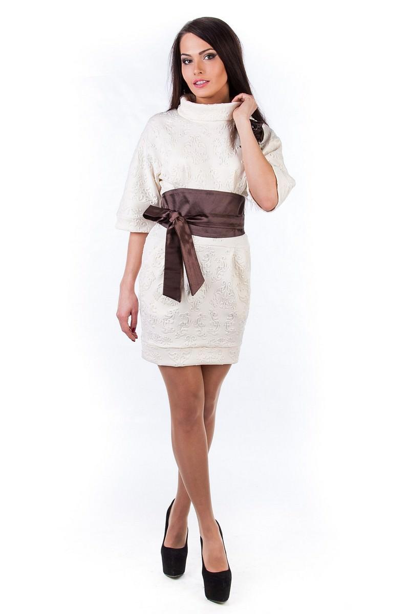 Оптом платья трикотаж Платье Вассаби