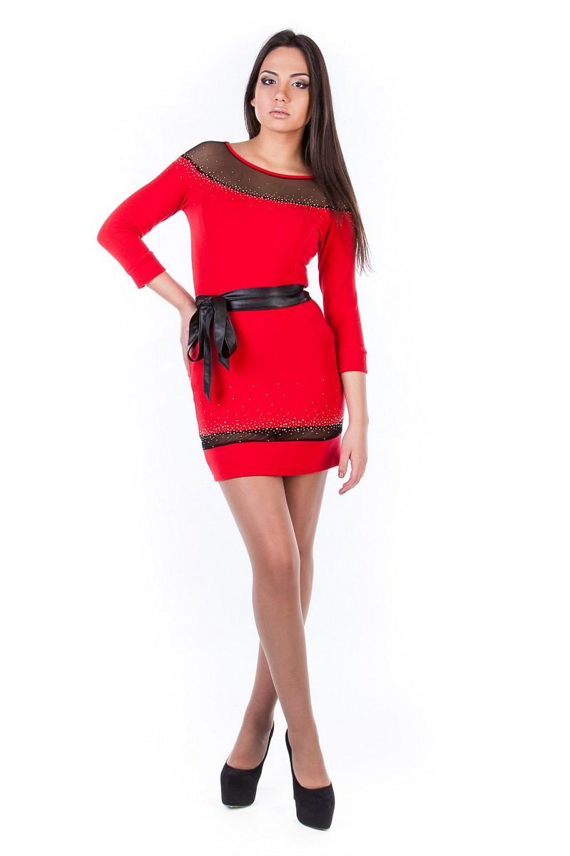 Платья трикотажные оптом от производителя Платье Ирбис италия