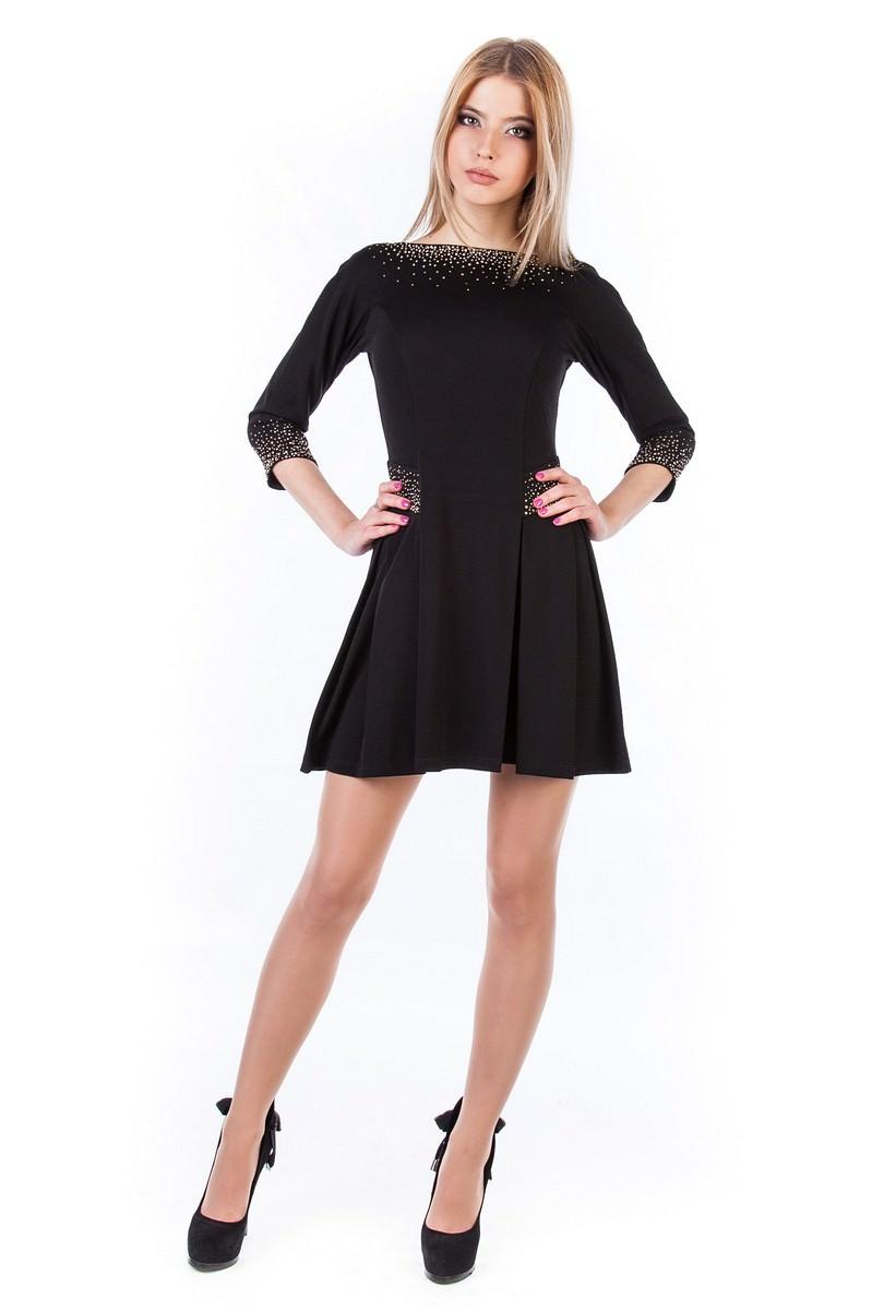 Платья трикотажные оптом от производителя Платье Скарлет
