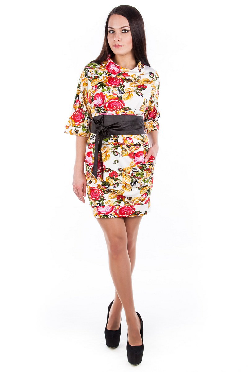 Купить женскую одежду оптом Платье Вассаби