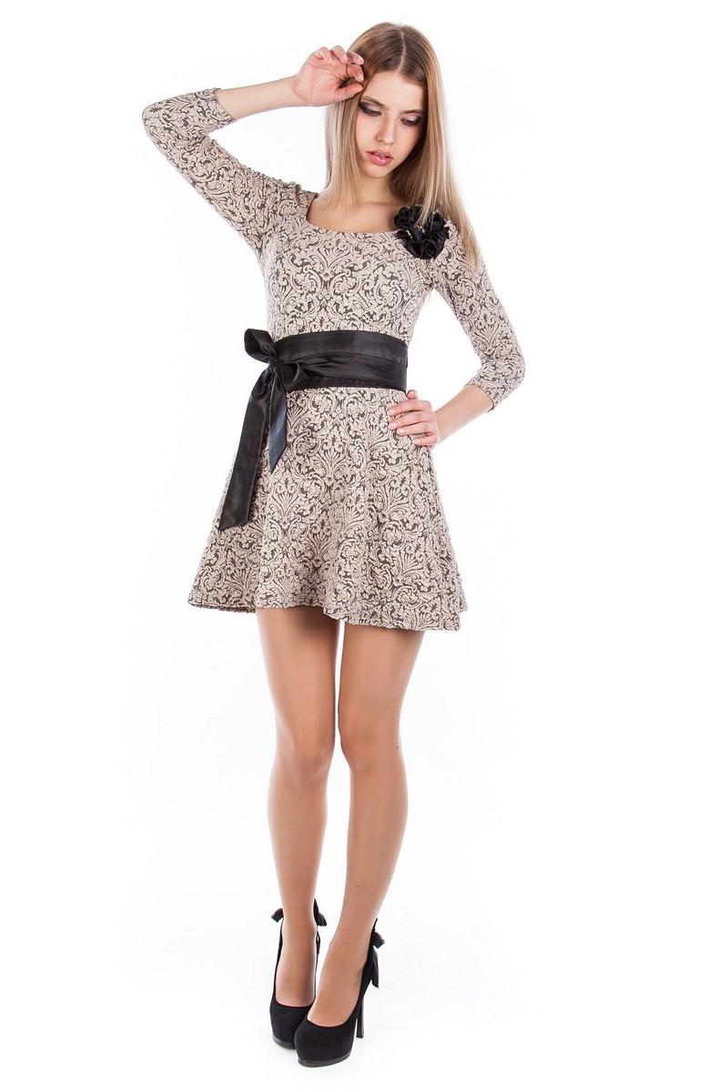 Женские платья оптом от Modus Платье Танго жаккард