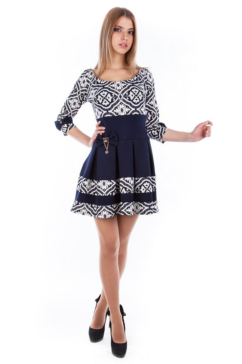 Женские платья оптом от Modus Платье Николь лилия
