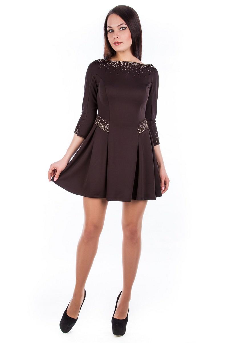 Купить платья оптом от производителя Платье Скарлет