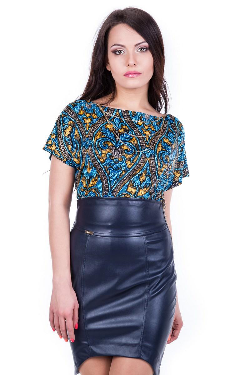 Платья трикотажные оптом от производителя Платье Ани