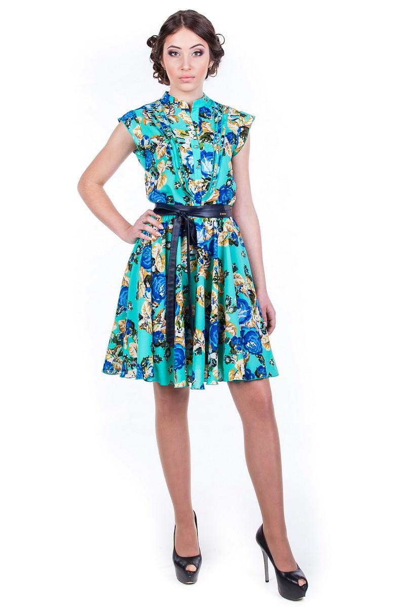 Оптовый интернет-магазин платьев Modus Платье Лоя вышивка принт