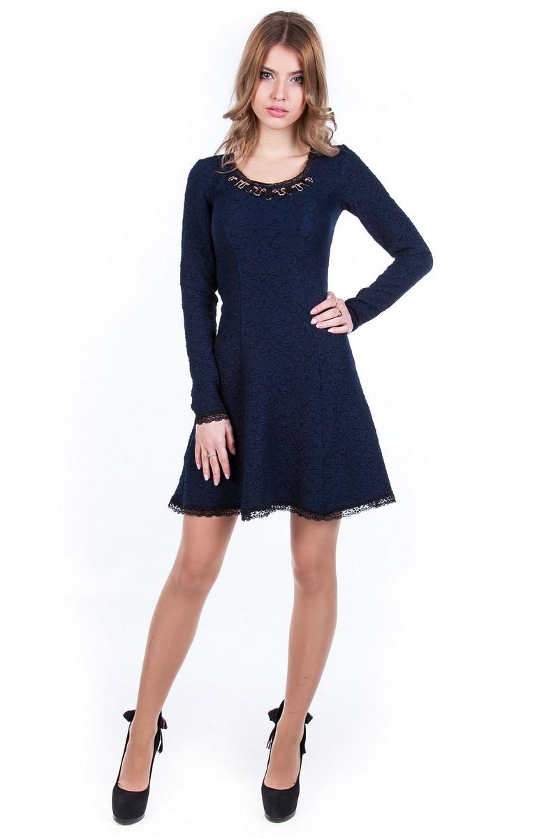 Женские платья оптом от Modus Платье Мери жаккард Дамаск