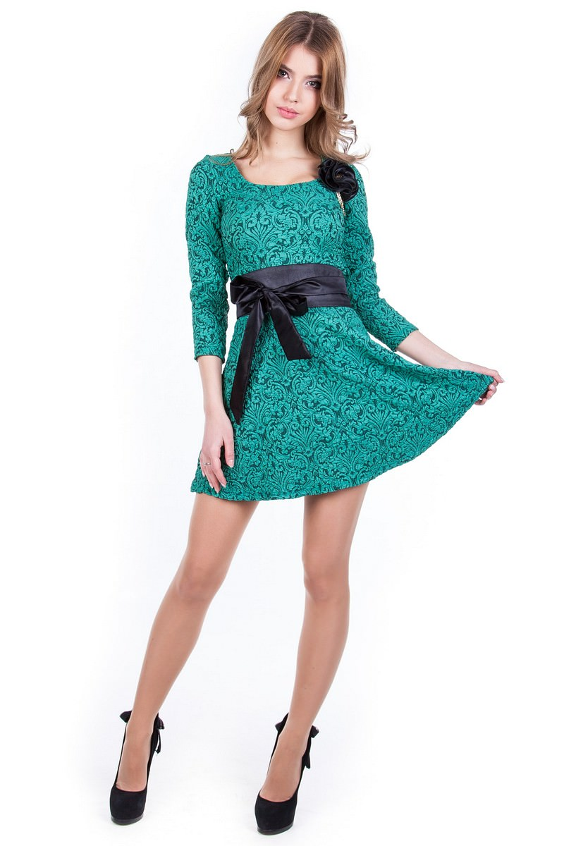 Оптом платье недорого от Modus Платье Танго жаккард