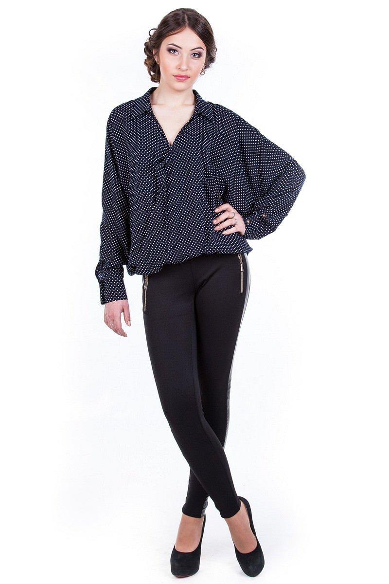 Школьные блузы оптом от производителя Блузка-рубашка Токио