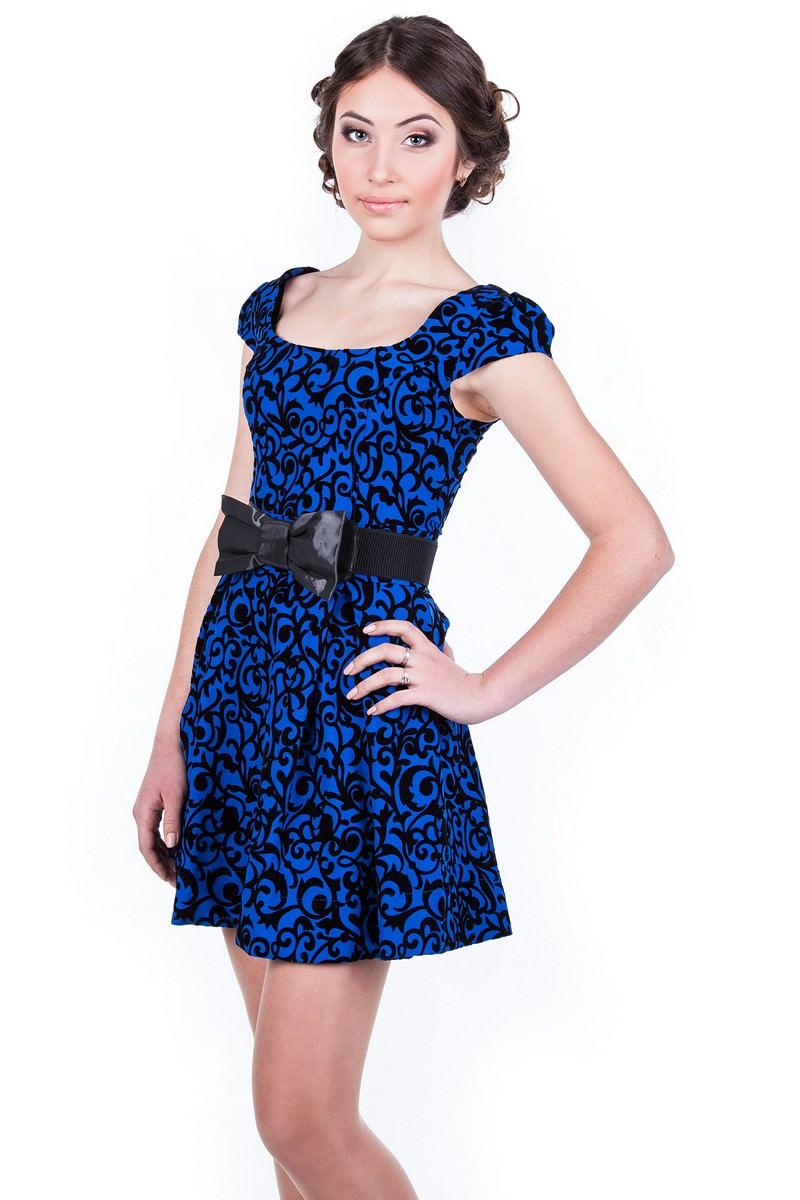 Купить женское трикотажное платье оптом Платье Фелличита