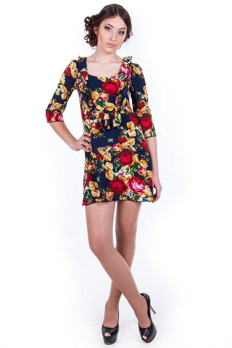 Купить женскую одежду оптом Туника Хеппи 2154