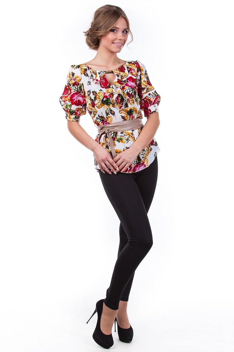 Женские блузки оптом от производителя Блуза Лена