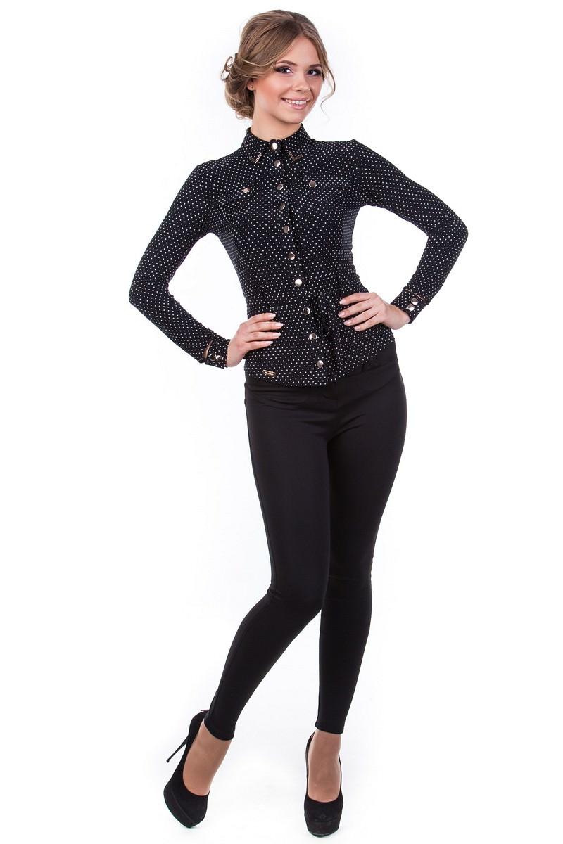 Оптом офисные блузы Modus Блуза Пэнни длинный рукав