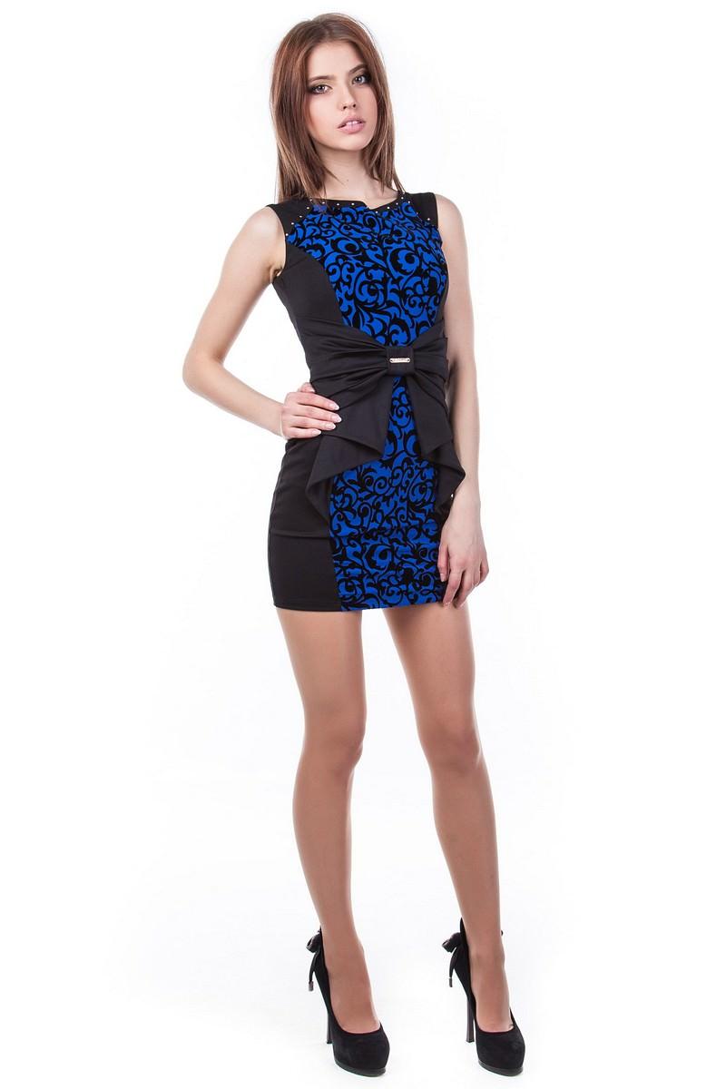 Платья трикотажные оптом от производителя Платье Рафаэль