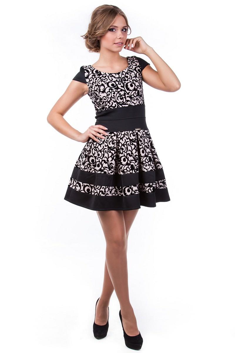 Оптом платье недорого от Modus Платье Синди креп-флок