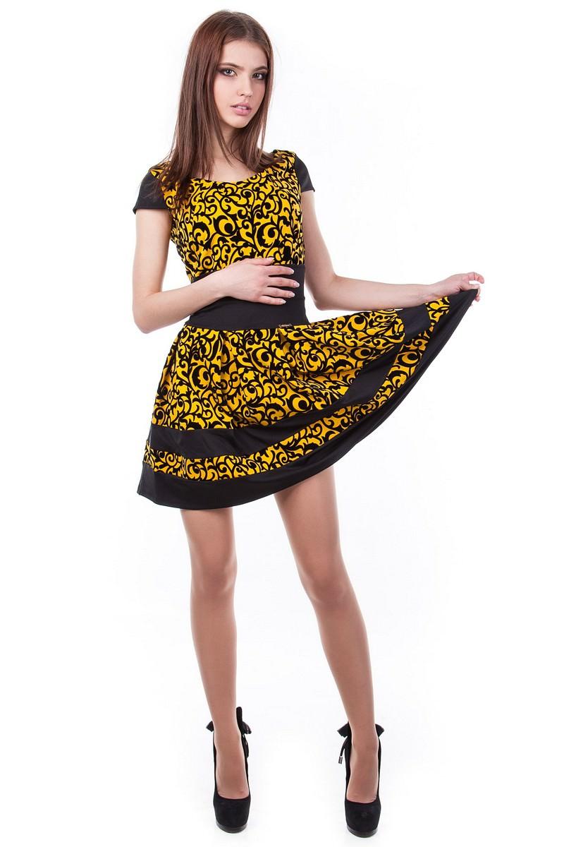 Женские платья оптом от Modus Платье Синди креп-флок