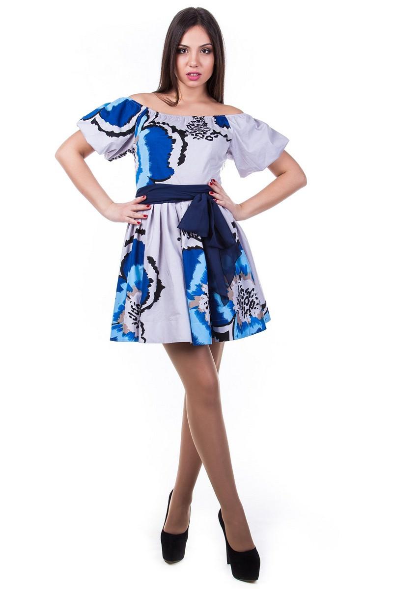 Платья трикотажные оптом от производителя Платье Таша