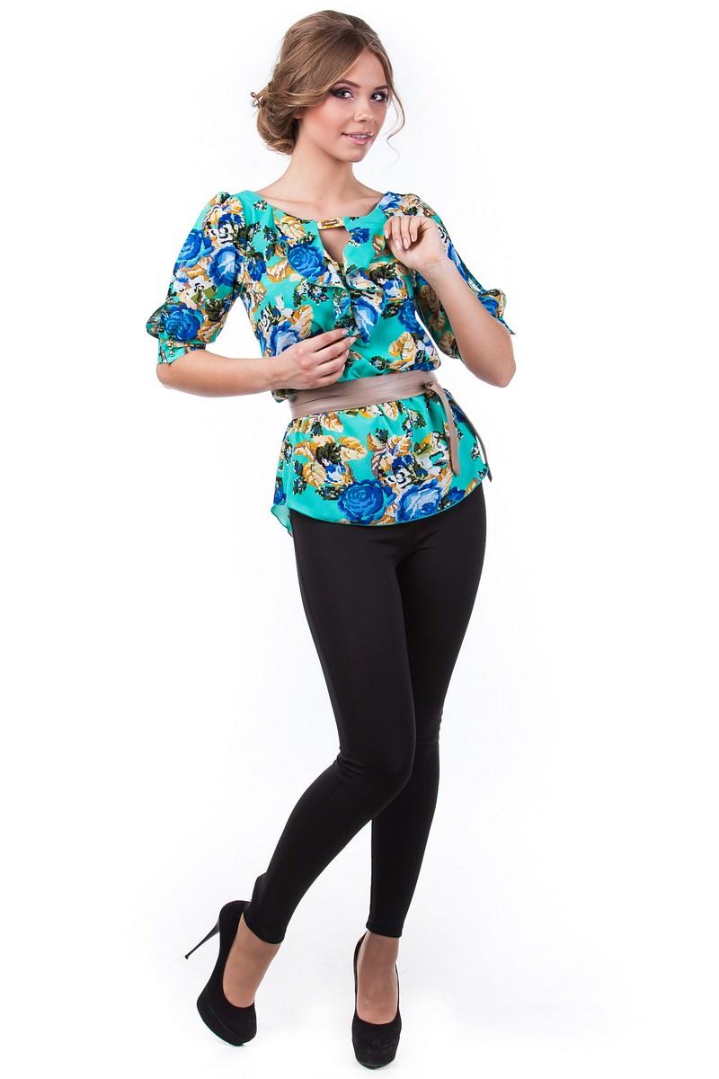 Оптом офисные блузы Modus Блуза Лена